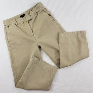 J. Crew Rayner Chino cropped pants 6